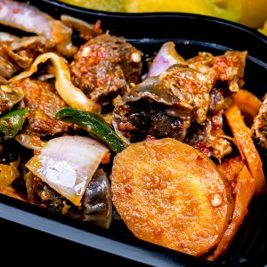 Pumpkin Veggies Gizzard - Healthy Foods In Nigeria - Nellies